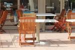 дървени столове за заведения за външна употреба