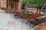 дървени столове за заведения за басейн