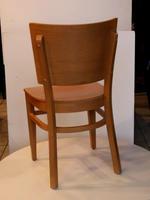 дъбови дървени столове за лоби бар