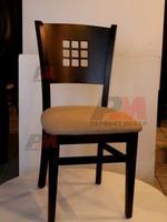 качествен дървен стол за закрити пространства