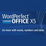 WordPerfect Office X5 Std License Media Pack FR