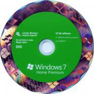 Windows Home Premium 7, 32-bit, English