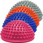 Масажна топка за баланс с формата на полусфера