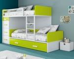 Класическа детска стая с двуетажни легла София