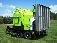 Машина за събиране и разтопяване на асфалт
