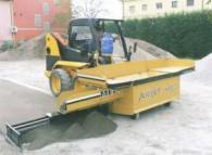 Машина за полагане на асфалт -