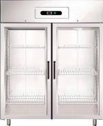 Хладилни шкафове със стъклена врата GN1410TN/G