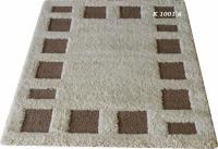 Машинни килими в бежово и кафяво 80х150см