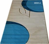 Машинни килими 80х300см в сиво и синьо