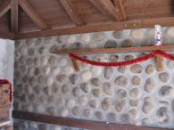 Изкуствен речен камък за стенна облицовка