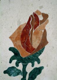 Изображение на роза от гранит по поръчка