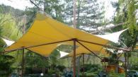 Преносими сенници за градини и паркове