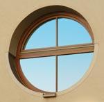 кръгъл прозорец по поръчка 216-2734