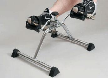 Уред за раздвижване на колянна става