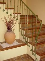 перила за стълбища от ковано желязо 2529-3264