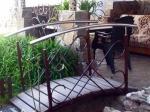 градинско мостче от ковано желязо 4036-3171