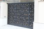 плътна портална врата от ковано желязо по поръчка