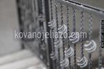 изработка на стълбищни парапети от ковано желязо