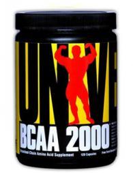 Universal Nutrition BCAA 2000 - 120 капсули