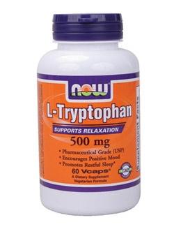 L-Tryptophan 500 мг - 60 капсули /Триптофан/