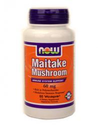 Maitake Mushroom 60 мг - 60 капсули /Гъби Майтаке/
