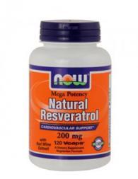 Mega Resveratrol 200 мг - 120 капсули