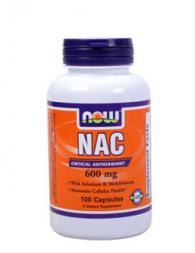 N-Acetyl Cysteine 600 мкг - 100 капсули