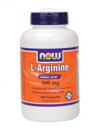 Arginine 500 мг - 250 капсули /Аргинин/