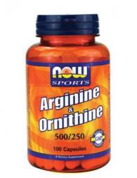 Arginine/Ornithine 500/250 мг - 100 капсули