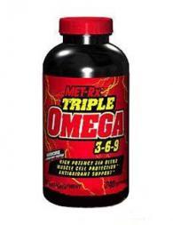 Met-RX Triple Omega 3-6-9 - 120 меки капсули