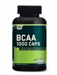 Optimum Nutrition BCAA 1000 - 200 капсули