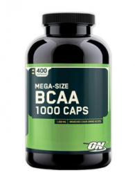 Optimum Nutrition BCAA 1000 - 400 капсули