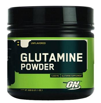 Optimum Nutrition Glutamine powder 600гр.