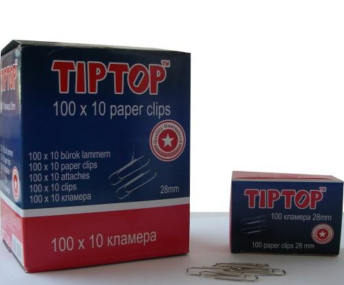Кламери 28mm Tip Top