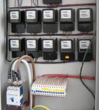 Поставяне на електрически табла -