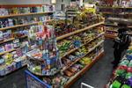 търговско обзавеждане на хранителен магазин
