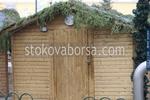 павилион за продажба до 6 кв.м от дърво