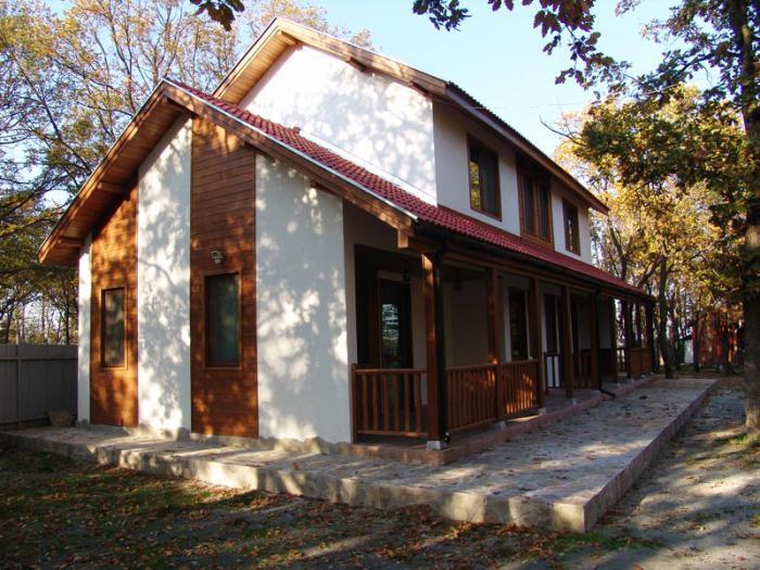 Европейска сглобяема дървена къща