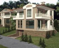 Проектиране на луксозни двуетажни къщи