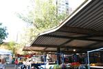 метални навеси за пазари по поръчка