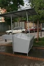 изработване на метална сергия за пазар