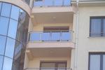 балконски парапети от алуминии и стъкло по поръчка