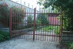 дворна метална врата по поръчка