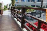 фирма за дървени парапети за мостове