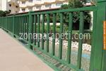 дървени парапети за мостове по поръчка