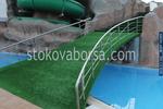 иноксово мостче за басейн по поръчка