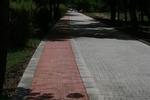 лепене на плочки от бетон за велоалеи