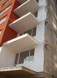 Стена от полистирол бетонови блокчета