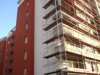 Висока полистирол бетонна сграда