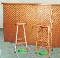 Бар столове от ракита